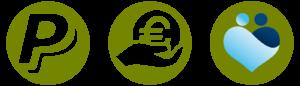 Paypal, Überweisung, Donatia